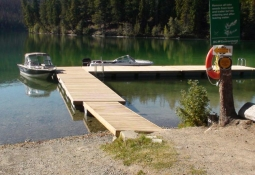 Boat Launch and Swim Dock